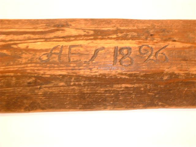 * Washing bat dated 1826