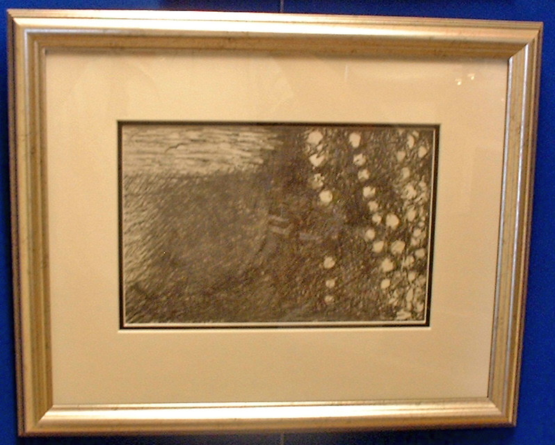 Bonnard Pierre (1867-1947) drawing signed