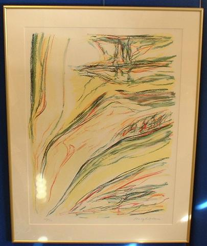 SOLD! Bengt Olson framed llithography!