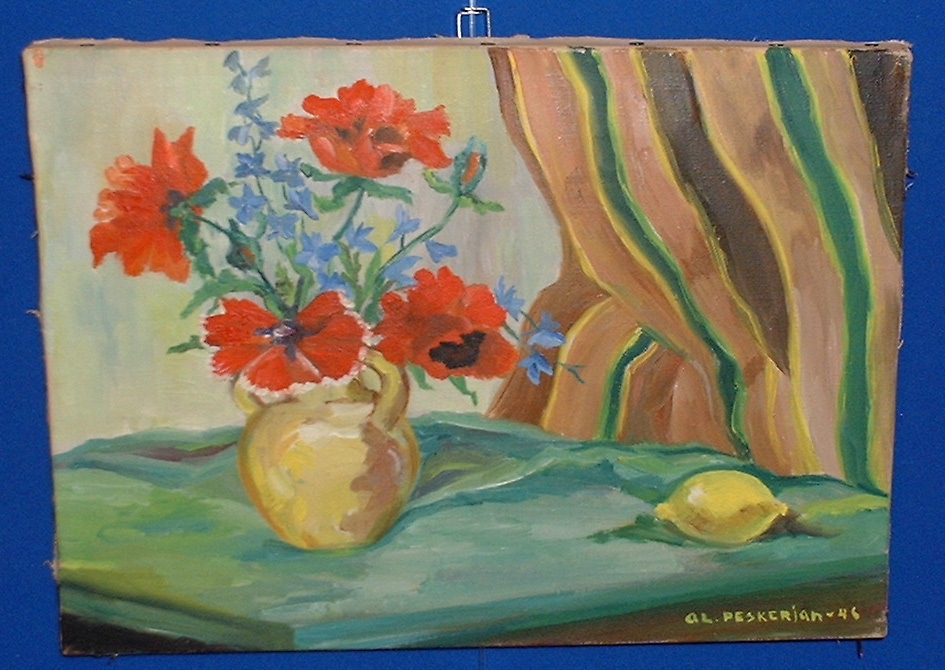 *Peskerian very fine oil painting