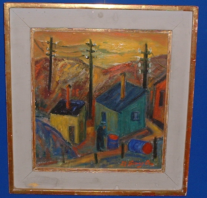Xet,(1899-1970) Ascribed oil painting!